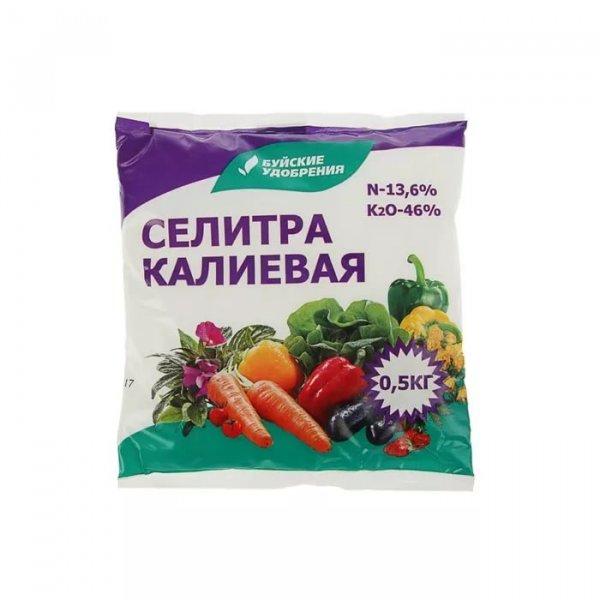 применение калиевой селитры на огороде