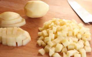 Как резать картошку правильно (для жарки, супа, духовки…)