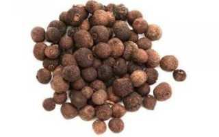 Перец ямайский — полезные свойства, описание